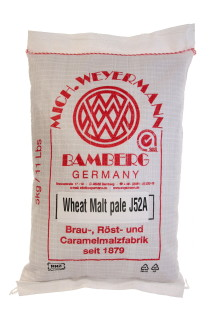 Wheat Malt - pale, whole, 5 kg