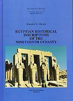 Egyptian Historical Inscriptions of the Nineteenth Dynasty.