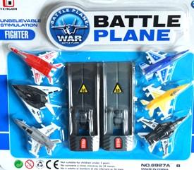 6-pack flygplan med 2 katapulter