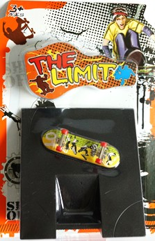 Fingerboard med ramp