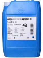 Aral SuperTronic LongLife 3 SAE 5W-30 - 1x20 Liter