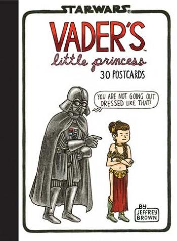 Book/postcards Vader's Little Princess