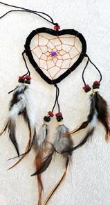 Hjärta  Drömfångare -Små - 30cm