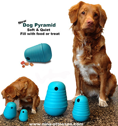 DOGPYRAMID - LARGE -TPE - SOFT & QUIET.