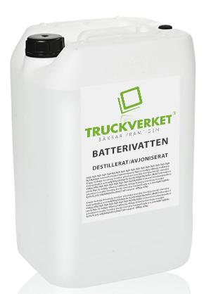 Batterivatten 25 L