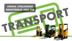 22-23 augusti | Truckutbildning Transport | Dagtid