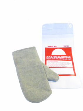 Heat resistant fire glove