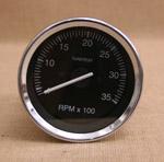 Varvräknare 85 mm 3500 rpm svart