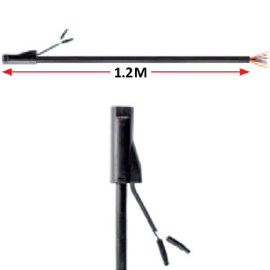 Lampkabel 1.2M 6PIN Vänster