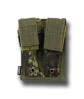Inspire Molle Dubbel Pistol Mag Pouch Digital Woodland