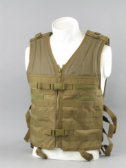 Miltec Molle Carrier Vest Coyote