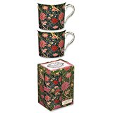 William Morris porcelain mug, Cray, 2-set