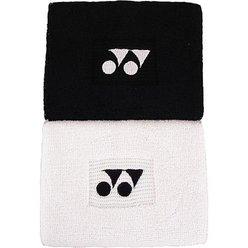 Svettband Yonex wristband double, vit
