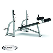 Matrix Olympic Decline Bench G1-FW165