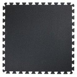 Gymgolv 10mm, svart