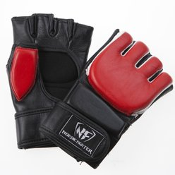 Nordic Fighter MMA Safety Training Gloves, röd