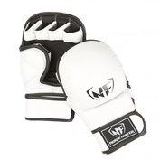 Nordic Fighter MMA/Shooto Träningshandskar Pro, vit