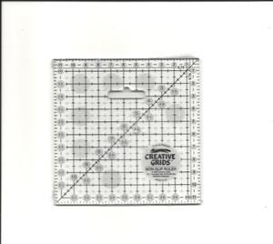 Linjal Creative Grids 11,5 x 11,5 Centimeter
