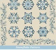 Mönster Snowflake