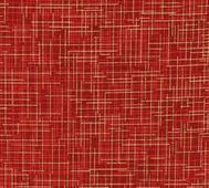 Kaufman Quilter´s Linen Crimson m Guld
