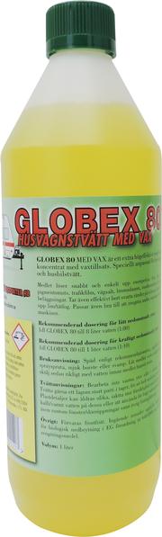 Globex 80 Husvagnstvätt med vax 1,5 liter