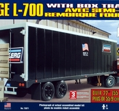 25 Dodge L-700 med Trailer