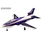 FMS Futura 80mm fläkt modell lila PNP