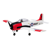 ParkZone T-28 Trojan 1.1m BNF Basic with AS3X and Safe Select