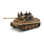 German Tiger I Late Version - w/Ace Commander & Crew Set