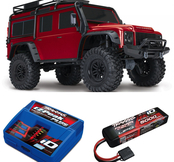 Traxxas TRX-4 Scale & Trail Crawler Land Rover Defender  RTR - Med Batteri & Laddare
