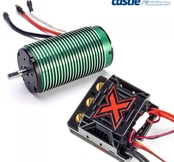 Castle Creations Mamba Monster X ESC Combo med 1512-2650KV motor