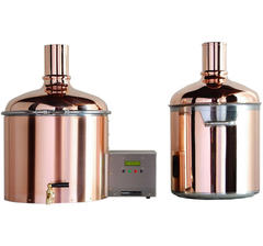 BrauEule II Brewing System 34 l with Copper-Clad Lauter Tun
