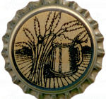 """Stein and Barley"" beer bottle caps, 250 pcs"
