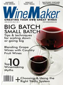 WineMaker, June/July 2014