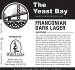 Franconian Dark Lager (The Yeast Bay)