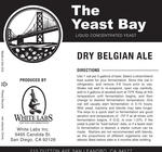 Dry Belgian Ale (The Yeast Bay)