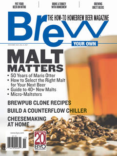 Brew Your Own, November 2015