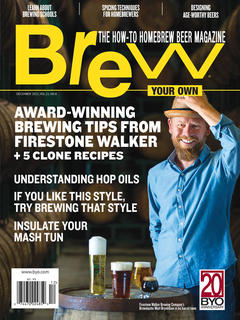 Brew Your Own, December 2015