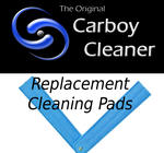 Carboy Cleaner Replacement Pads