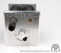 Monster Mill MM3Pro PD valsverk för remdrift