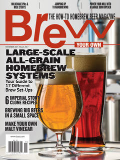 Brew Your Own, November 2017