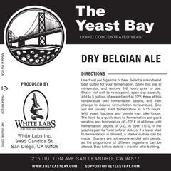 Dry Belgian Ale (The Yeast Bay) REA 4-12 mån