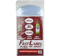 FastLabel Wine & Beer, 50 pcs