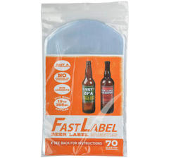 FastLabel Beer, 70 pcs