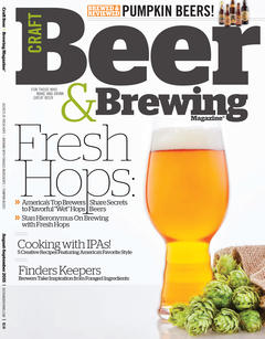 Craft Beer & Brewing: Fresh Hops (Aug-Sept 2015)