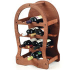 Wine Rack, Wood, 13 Bottles