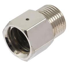 trapetsadapter (typ 2.2) med säkerhetsventilhål för regulator till 425 g kolsyrepatron