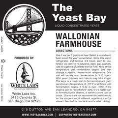Wallonian Farmhouse (The Yeast Bay) REA 4-12 mån