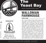 Wallonian Farmhouse (The Yeast Bay) SALE 4-12 mon
