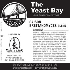 Saison Brettanomyces Blend (The Yeast Bay) REA 4-12 mån